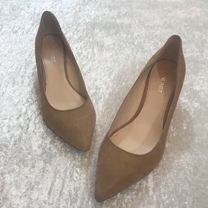 GUC Nine West Chaeo Wedge Shoes Size 9.5